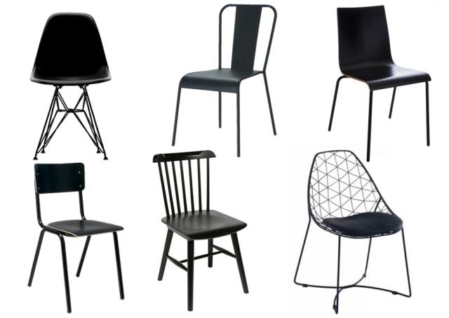 Ich möchte nicht übereinstimmende Tischstühle - Joli Place #ich .