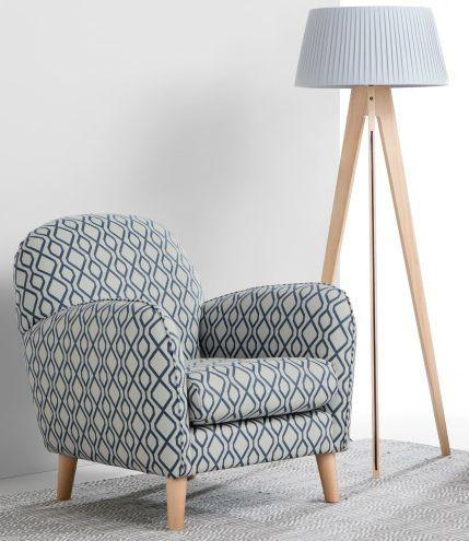 Mit Bertie haben wir einem traditionellen Sessel ein Design-Update .