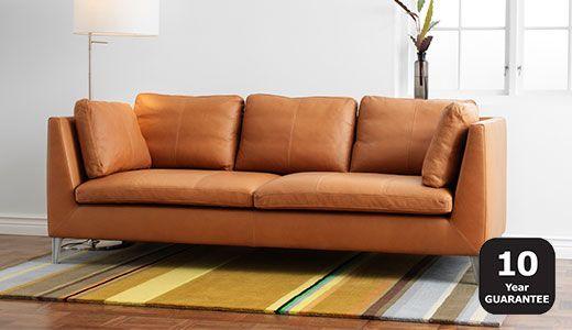 Erstaunlich, Ikea Sofa Leder, Leder Sofas Traditionelle .