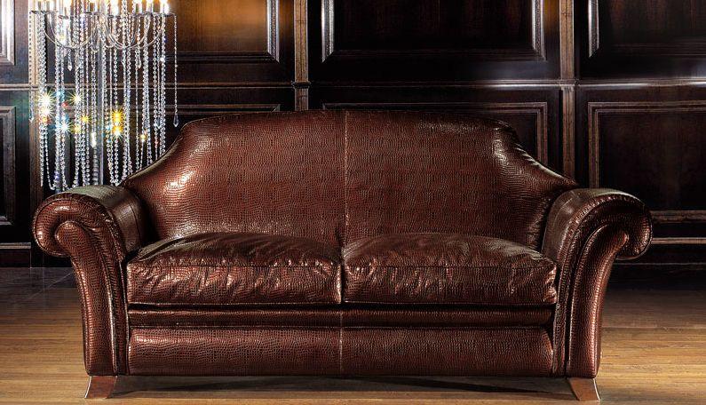 Wunderbare, Traditionelle Leder Sofas Elegante, Traditionelle .