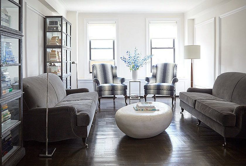 The Trick To Mixing Modern and Traditional Furniture | Living room .