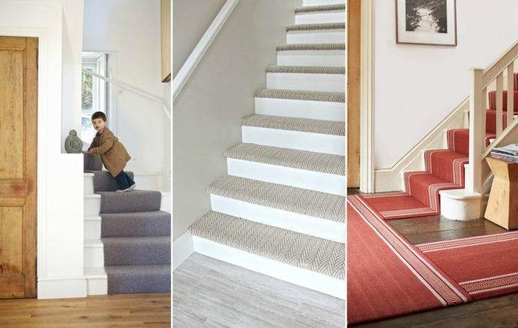 Welche Arten von Treppenteppich gibt es & welche ist die beste .