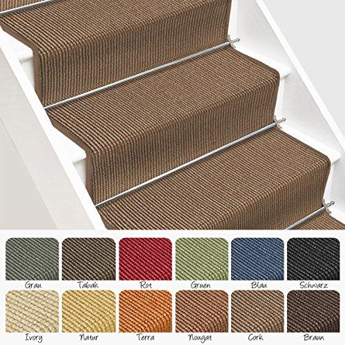 Sisal Treppenteppich / Treppenläufer | viele Größen | natürlicher .