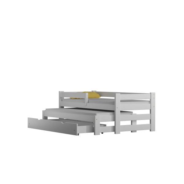 Solide Kiefer Holz Trundle Bett für Kinder Kinder Junior Kleinki