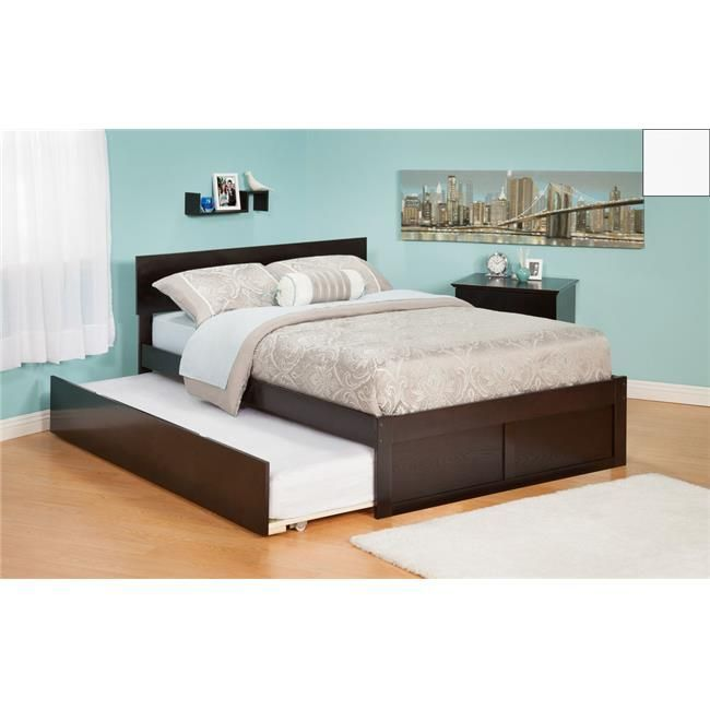 Atlantic Furniture AR8122012 Orlando Twin-Bett mit Flat Panel .