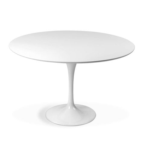 Der Tulip Table von Eero Saarinen Bei dem Tulip Tisch von Eero .