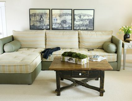 """Inspiration for a DIY twin mattress """"sofa bed""""--I don't want the ."""
