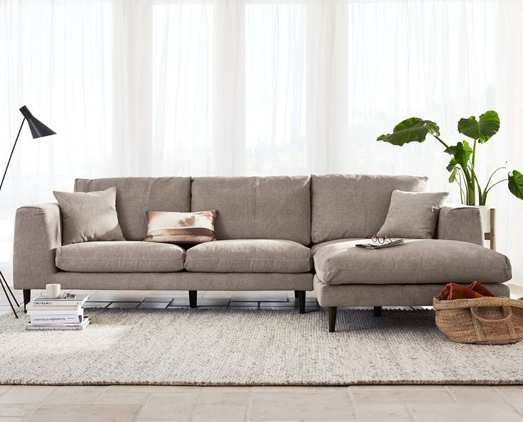 Eck Couch Grau Sectional Sofa Schwarz Schnitt Sofa Mit .