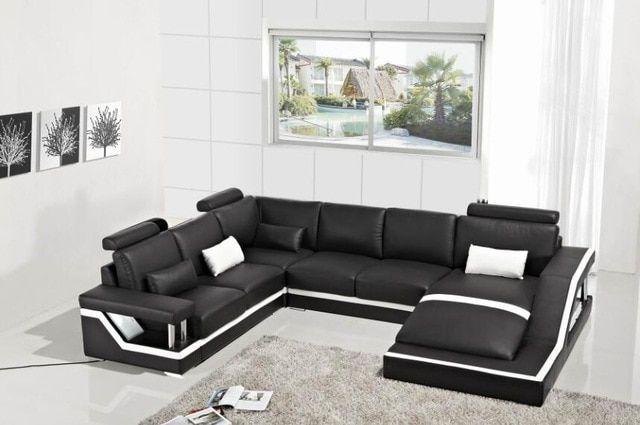 Sitzmöbel – u-förmiges Sofagarnitur in 2019 | Ecksofas, Modernes .