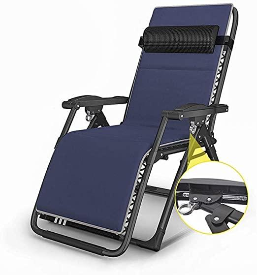 JPVGIA Liegestuhl, Schwerelosigkeit, die Patio-Ruhesessel-Stuhl im .