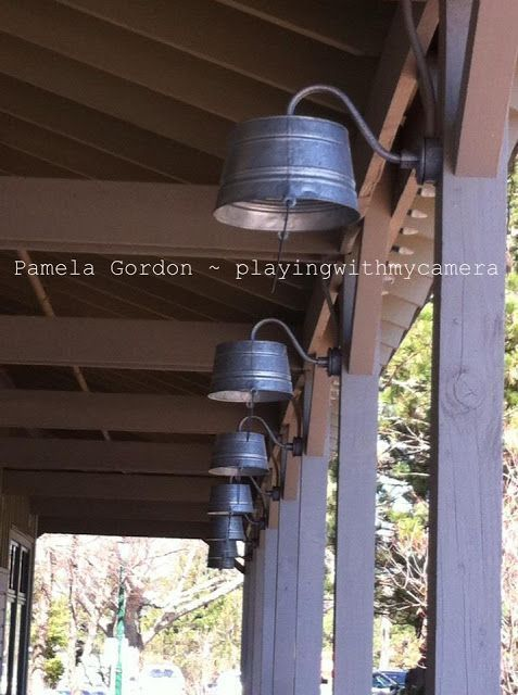 Ich liebe diese Washtub-Lichter für die Veranda -... - #die #Diese .