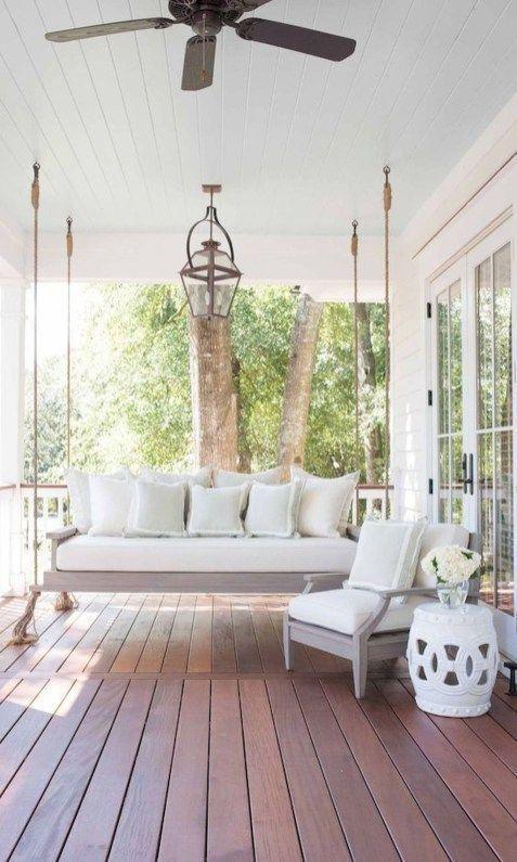 40+ MOST STYLISH FARMHOUSE FRONT DOOR DESIGN IDEAS | Veranda möbel .