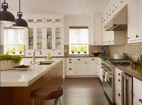 28 verblüffende Ideen für vintage Küche! - Archzine.n