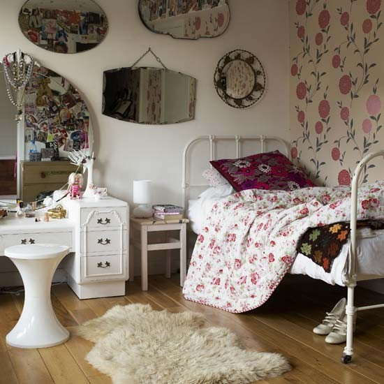 Traum Vintage Schlafzimmer Ideen für Teenager - Zimmerdekorati