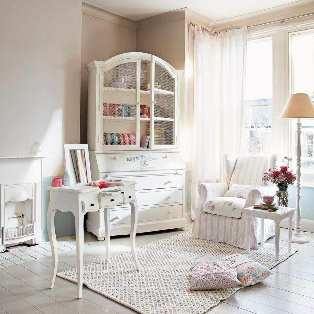 55 Schlafzimmer Ideen – Gestaltung im Shabby Chic-Look | Kommode .