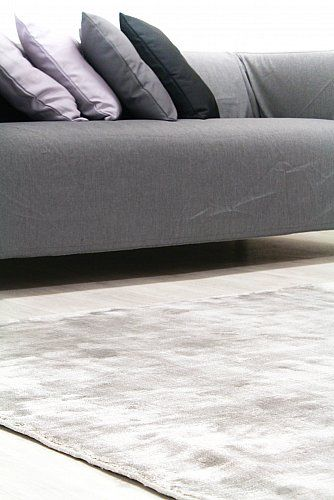 Viskose-teppich - Jodhpur Special Luxury Edition (grau) | Teppich .