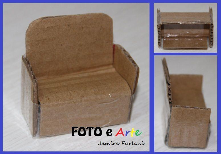 Pin von Monika Vogel auf sessel   Basteln mit papier, Pappe und .