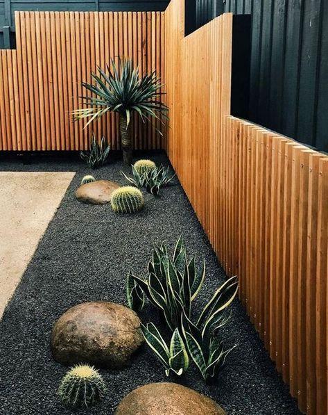 33+ spannende Hinterhof und Vorgarten Landschaftsgestaltung Design .