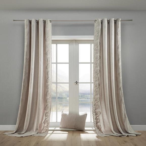 Vorhang in Grau ca. 140x245 cm 'Nele' online kaufen ➤ möm
