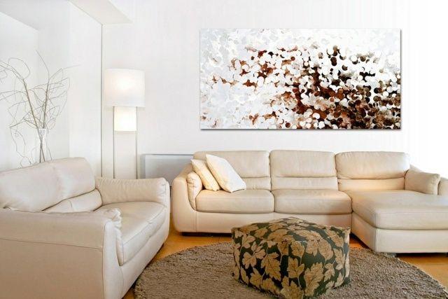 Wanddekoration Ideen – die moderne Kunst als Akzent | Moderne .
