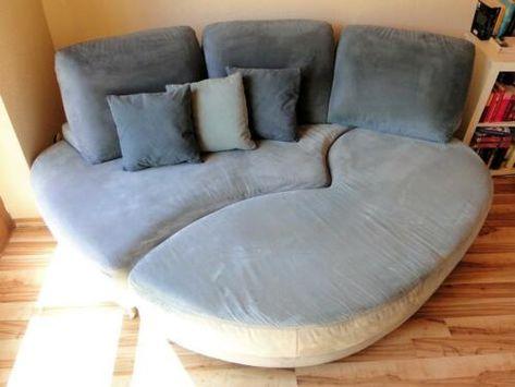wandelbares Design Sofa von E. Schillig | Recamiere, Design, So