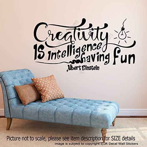 """Creativity is intelligence, having Fun"""". -Albert Einstein zitieren ."""
