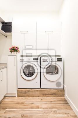 Wäschekammer leinwandbilder • bilder Trockner, behindern .
