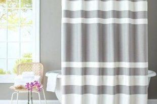 Weißer Bauernhaus Duschvorhang | Shabby chic badezimmer .