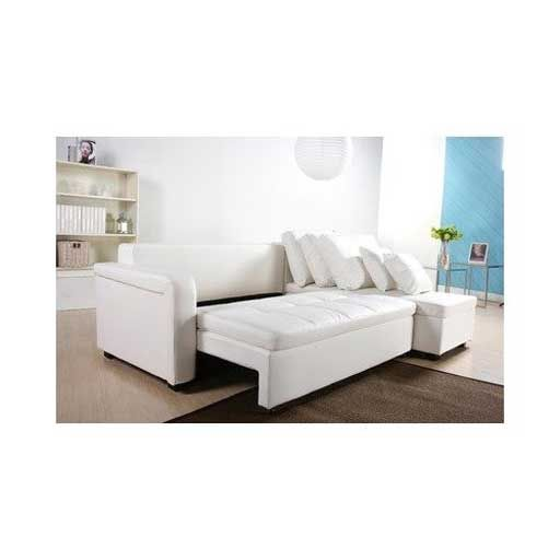leather sectional sofa with sleeper and recliner | FURNITURE .
