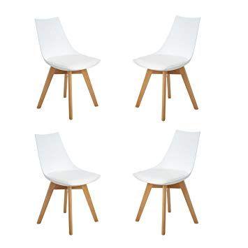 Weißer bequemer Stuhl