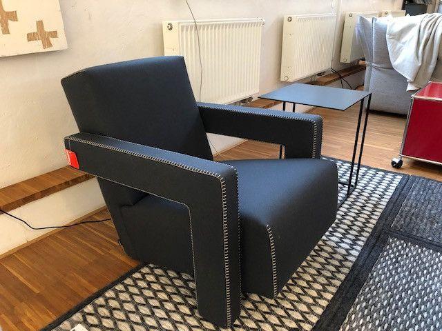 Sessel #Utrecht von #Cassina, Design Gerrit Thomas #Rietveld .