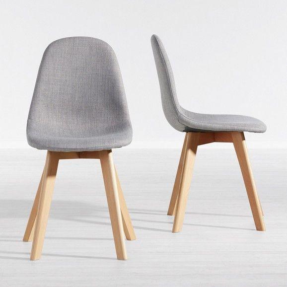 Stylischer Stuhl im Skandi-Chic - ein bequemer Sitzplatz in .
