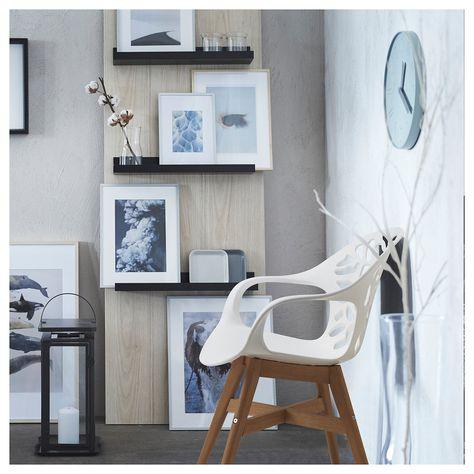 ANGRIM Stuhl - weiß gemustert - IKEA Österreich   Weiße stühle .