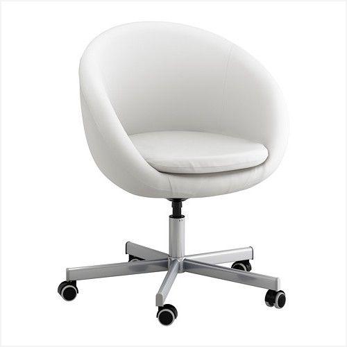 Ikea Bürostuhl Weiß | Bürostuhl, Bürostuhl weiß, Wohnzimmer sess
