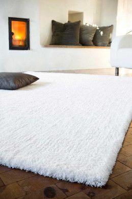 Weiße Teppiche in 2020   Weißer teppich, Hochflor teppich weiß und .