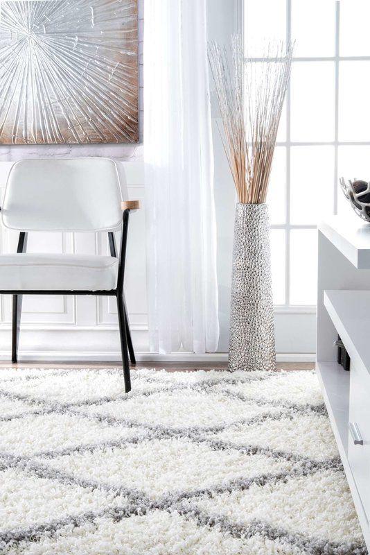 Teppich Colona in Weiß   Weißer teppich, Schlafzimmer teppichboden .