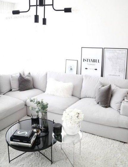 Living Room Decor Grey Carpet Pillows 60 Trendy Ideas #roomdecor .