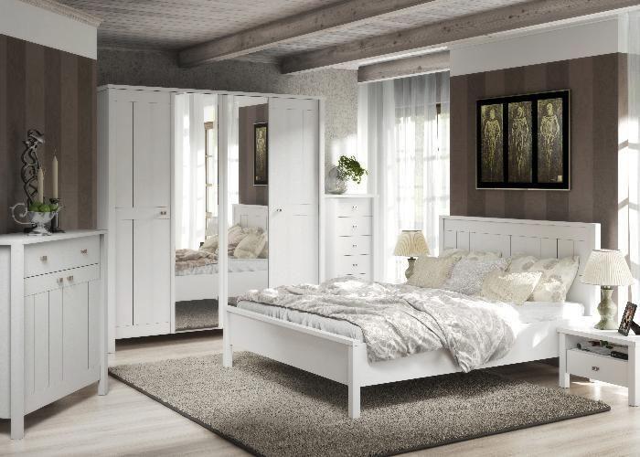 Schlafzimmer Komplett Village - Ganz in Weiss. Ganz im .