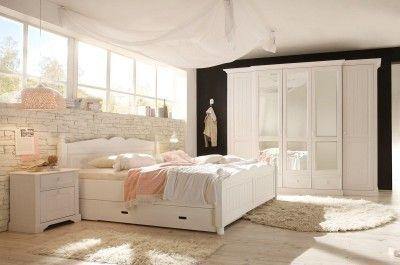 Weißes Schlafzimmer Set