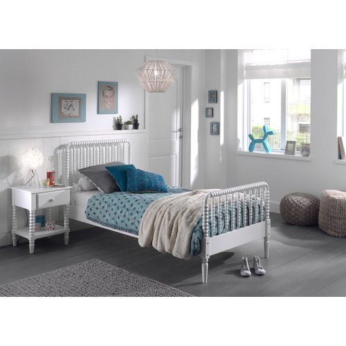2-tlg. Schlafzimmer-Set Alvardo Harriet Bee Farbe: Weiß in 2020 .