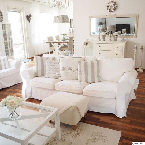 ektorp sofa, ektorp weißes sofa, ikea, kissen, wohnzimmer | Kleine .