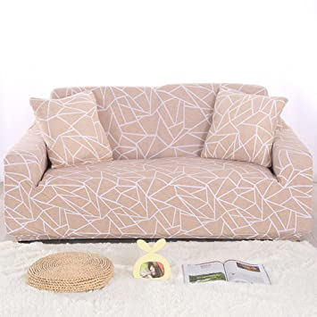 DW&HX Volle Deckung Stretch Sofabezug, 1-teilige Wildleder Couch .