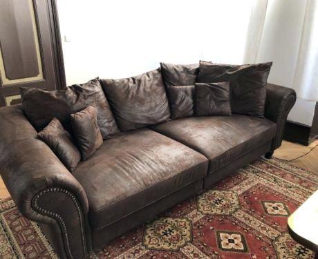 Ihr Wildledersofa hält länger wenn es gut gepflegt wird Sofa .