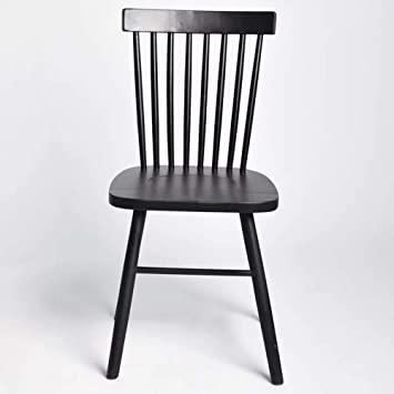 Amazon.de: WBBDZ Windsor Stuhl, Massivholz Esstisch Stuhl Nordic .