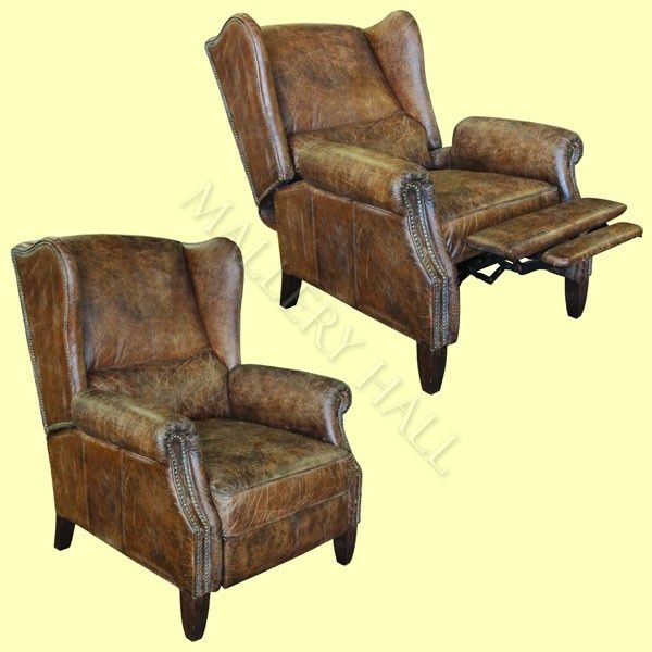 wing back recliner chairs - - Yahoo Image Search Results .