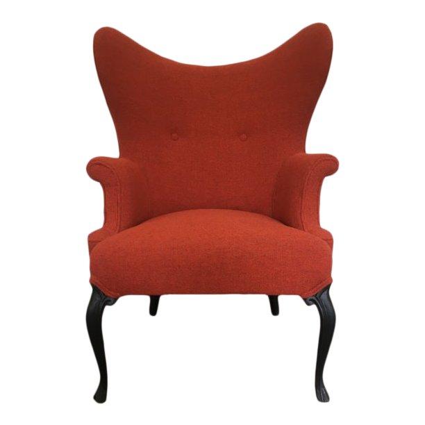 1960s Space Age Mod Retro Wingback Chair   Ohrensessel, Stühle und .