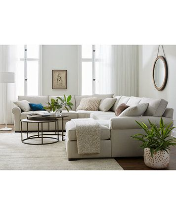 Astra 4-Pc. Sectional with Chaise, Created for Macy's | macys.com .