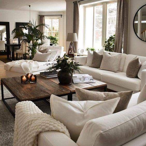 30+ Faszinierende Wohnzimmer-Design-Ideen für Zuhause 2019 .