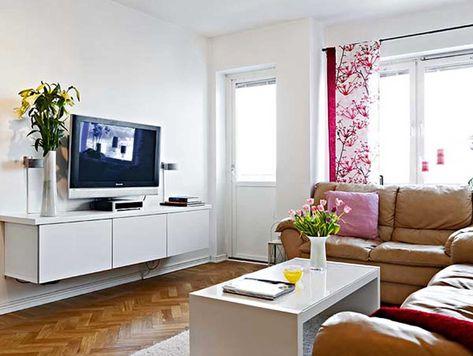 Kleines Wohnzimmer Design Ideen für Kleine Räume - Kleine .