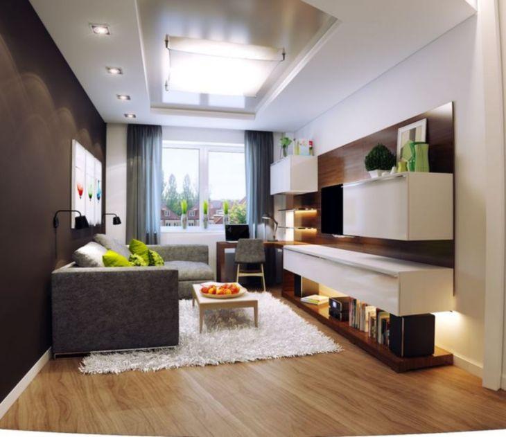 30 komfortable kleine Wohnzimmer-Design-Ideen - Dekoration ide